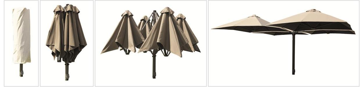 Cantilever Umbrella - The SU6 Flagship Model